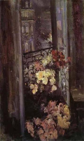a parisian balcony 1908 the tretyakov gallery moscow russia